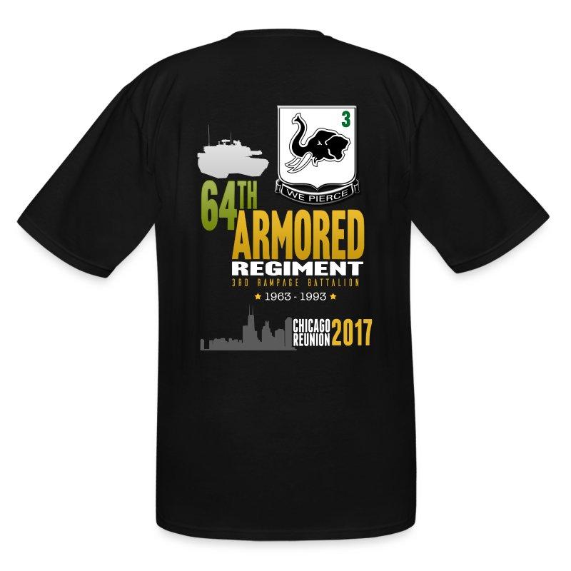 3/64 AR Reunion 2017 - Men's Tall T-Shirt