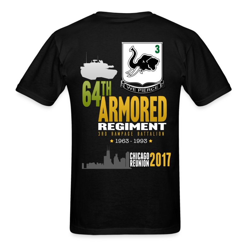 3/64 AR Reunion 2017 - Men's T-Shirt