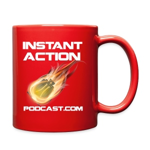 Official Instant Action Podcast Terran Republic Red Coffee Mug - Full Color Mug