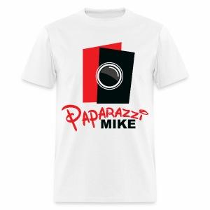 Paparazzi Mike Logo - Men's T-Shirt