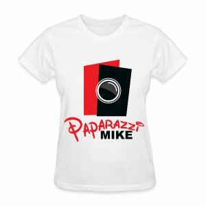Paparazzi Mike logo - Women's T-Shirt