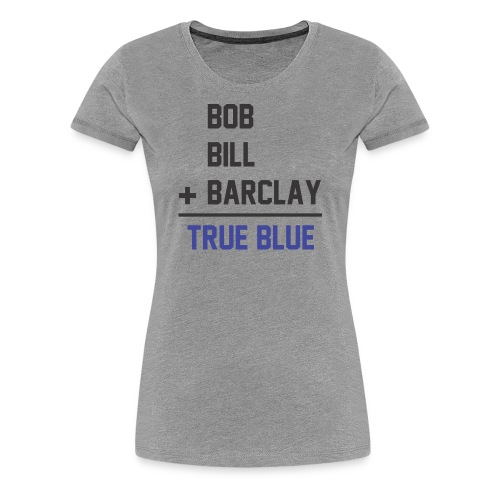 The Plager brothers St. Louis Blues hockey - Women's Premium T-Shirt