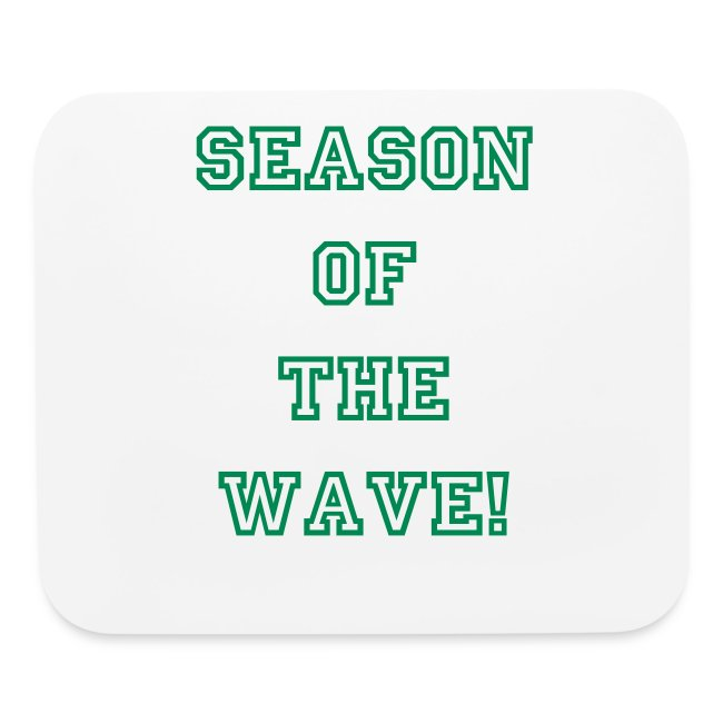 Season Of The Wave Mouse Pad