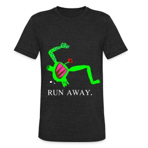 Tago Run Away T-Shirt - Unisex Tri-Blend T-Shirt