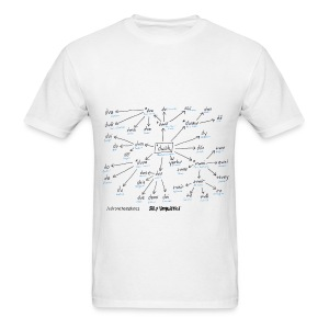 Development of two in the Indo European languages - Men's T-Shirt