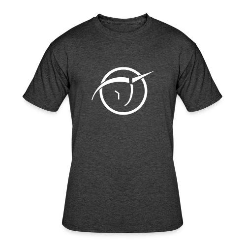 Men's 50/50 T-Shirt - White IPU classic logo