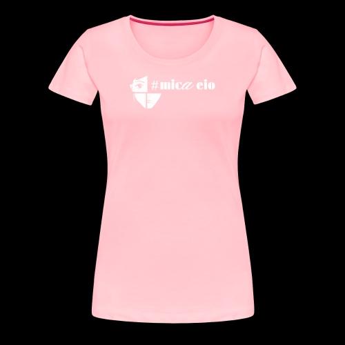 Mica Eio Minimal Line Ladies T Black - Women's Premium T-Shirt