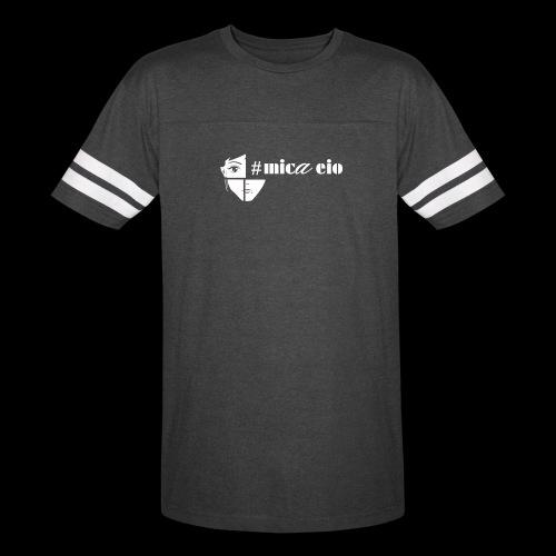 Eio Minimal Line Unisex T Black - Vintage Sport T-Shirt