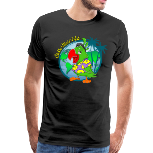 ChillinWorldWide Men's T-Shirt - Men's Premium T-Shirt