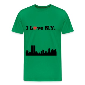 I love N.Y. - Men's Premium T-Shirt