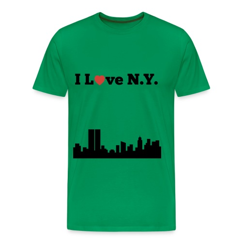 I love N.Y. - Men's Premium T-Shirt