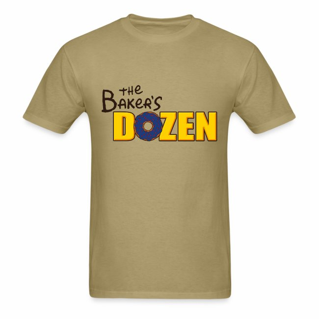 The Baker's D'OHzen Men's T-shirt (front & back)