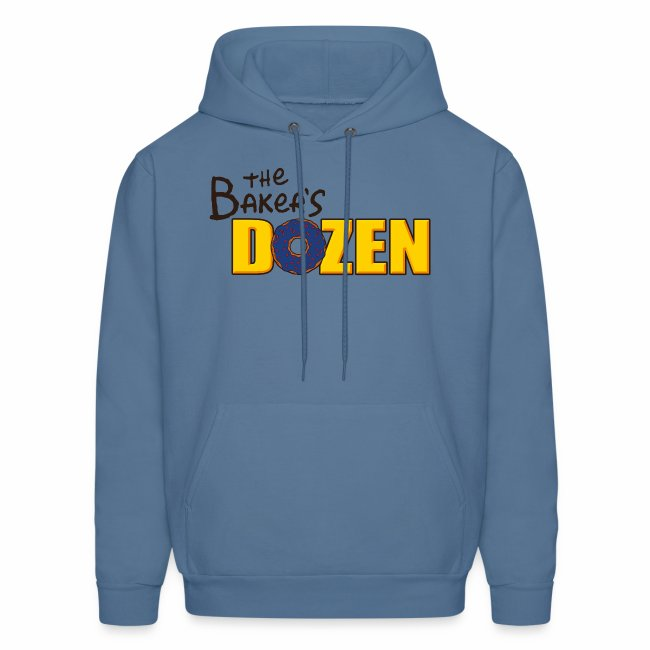 The Baker's D'OHzen Hoodie (front & back)