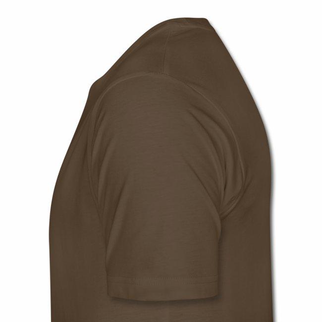 The Baker's D'OHzen Men's T-shirt (front lapel & back) (premium)