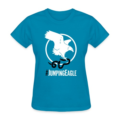 Jumping Eagle v. Trump (Women's T-shirt) - Women's T-Shirt