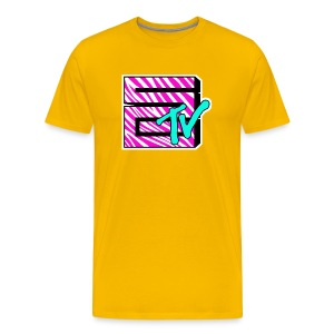 SGTV Zebra - Men's Premium T-Shirt