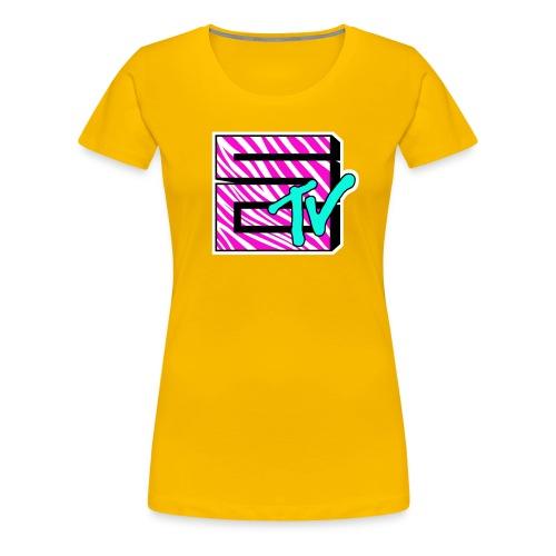 SGTV Zebra - Women's Premium T-Shirt