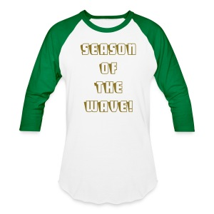 Season Of The Wave  Baseball Tee - Baseball T-Shirt