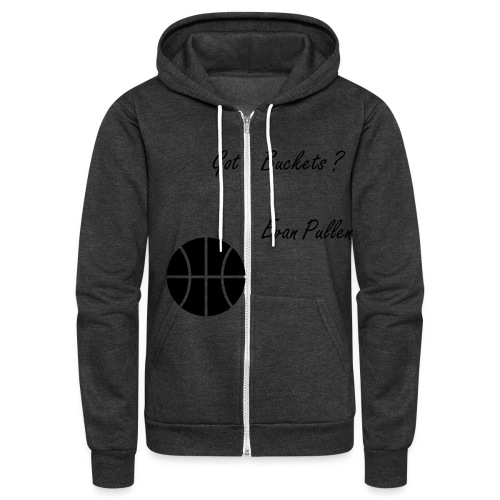 Got Buckets Jacket - Unisex Fleece Zip Hoodie