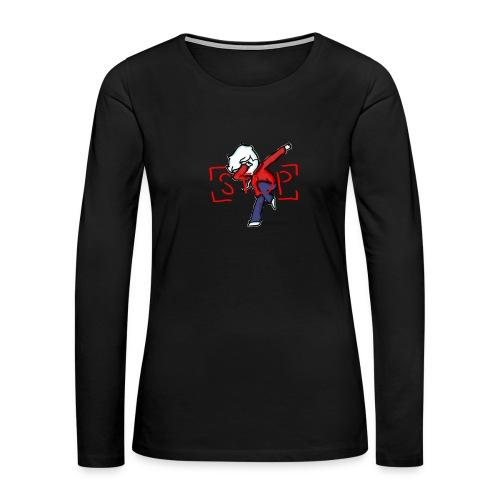Stop (WOMEN'S LONGSLEEVE) - Women's Premium Long Sleeve T-Shirt