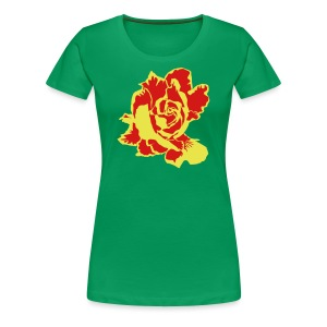 Golden Rose - Women's Premium T-Shirt