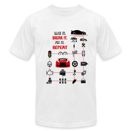 Born to race T-shirt - Men's Fine Jersey T-Shirt