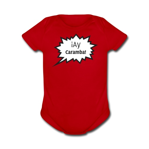 Ay Caramba - Baby - Organic Short Sleeve Baby Bodysuit