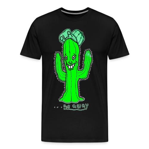 PLA go away  - Men's Premium T-Shirt