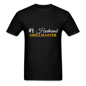 #1 Husband Black Shirt - Men's T-Shirt