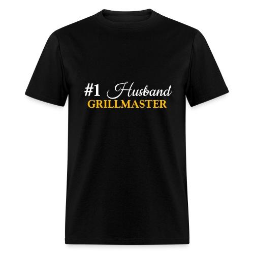 #1 Husband Black Shirt - Men's T-Shirt