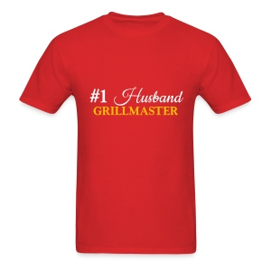 #1 Husband Red Shirt - Men's T-Shirt