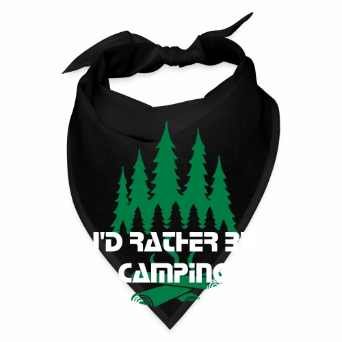 Id Rather Be Camping Scarf - Bandana