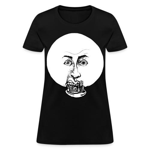 Women's Moon Mouth - Women's T-Shirt