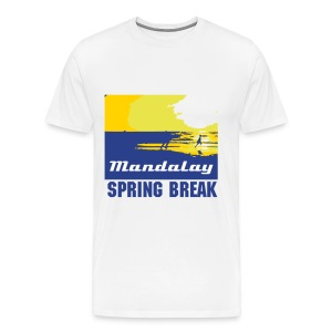 Clearwater Beach Mandalay - Men's Premium T-Shirt