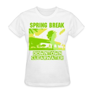 Clearwater Beach Spring Break - Women's T-Shirt