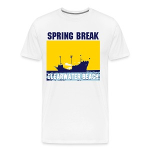 Clearwater Beach Pirate Ship - Men's Premium T-Shirt