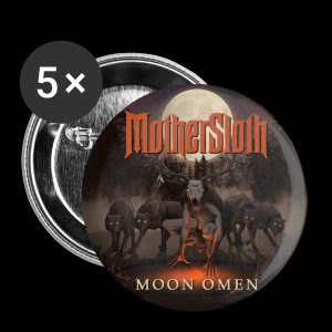 MotherSloth - Moon Omen Button - Small Buttons
