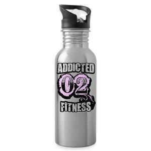 Addicted 02 Fitness Water Bottle - Water Bottle