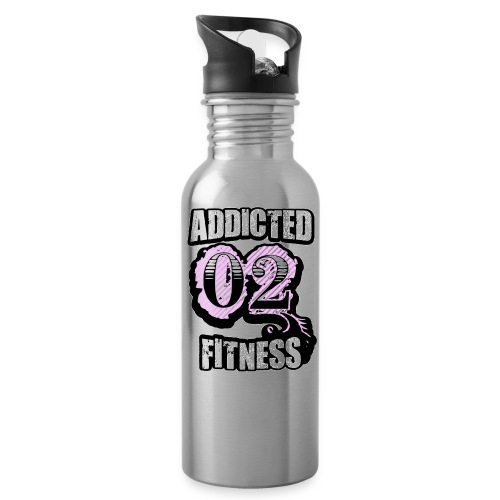 Addicted 02 Fitness Water Bottle - Water Bottle