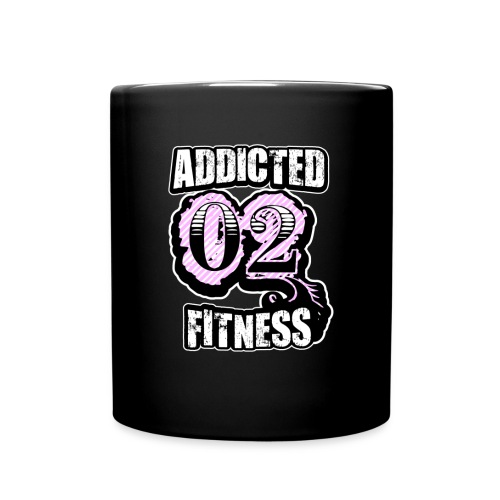 Addicted 02 Fitness Coffee Cup - Full Color Mug