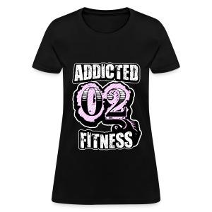 Addicted 02 Fitness  t-shirt/black - Women's T-Shirt