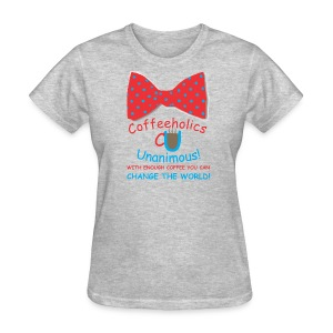 CU Change World f - Women's T-Shirt
