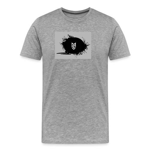 NEW LOGO Mertza Gaming Tee (MENS) - Men's Premium T-Shirt