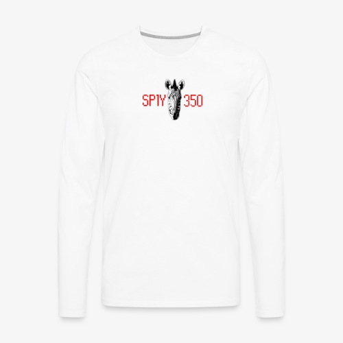 Sply 350 Zebra Men's Long Sleeve - Men's Premium Long Sleeve T-Shirt