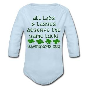 All Lads & Lasses - Long Sleeve Baby Bodysuit