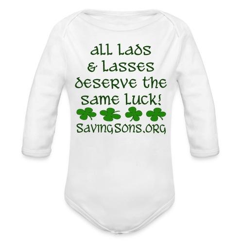 All Lads & Lasses - Organic Long Sleeve Baby Bodysuit