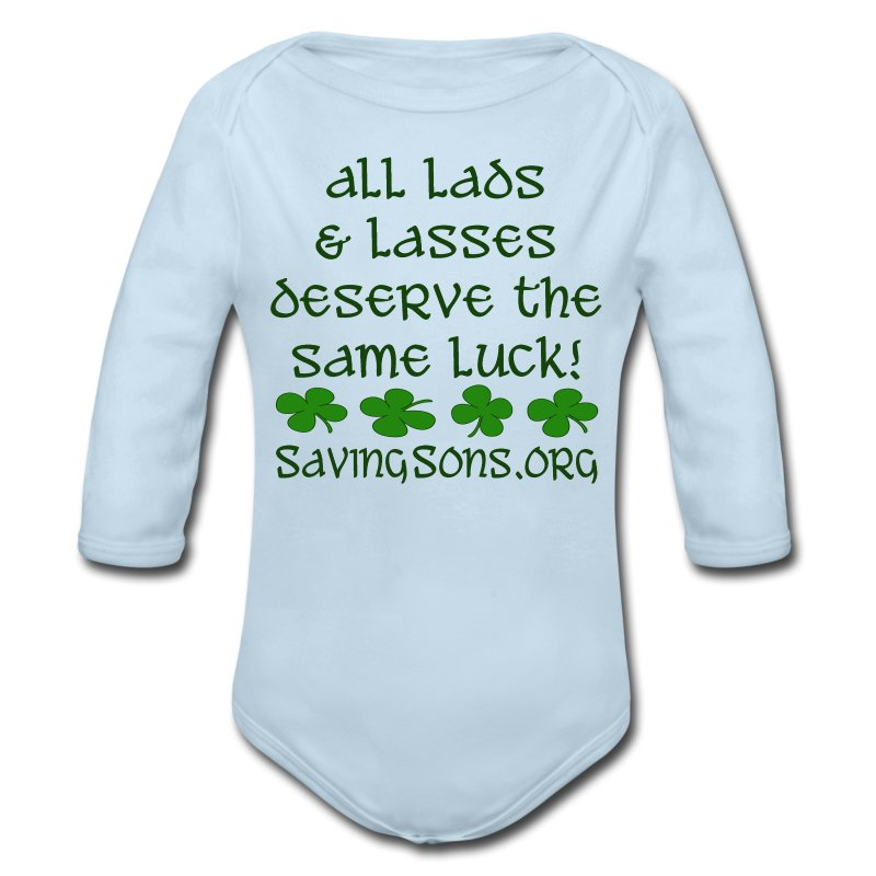 All Lads & Lasses - Long Sleeve Baby Bodysuit