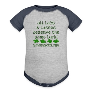 All Lads & Lasses - Baby Contrast One Piece