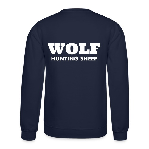 WOLF SWEAT SHIRT - Crewneck Sweatshirt