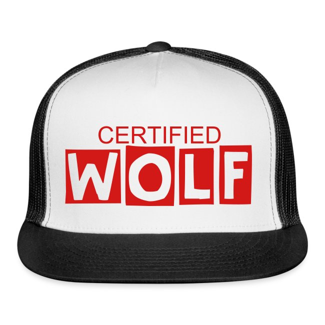 WOLF RED SNAP BACK